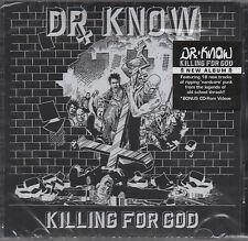 Dr. Know - Killing For God CD - New / Sealed (2009) Enhanced CD Punk rock