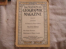 National Geographic June 1917
