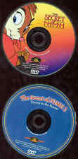 Secret Of Nimh 1 & 2 DVD Cartoons Timmy To The Rescue 2 Discs MGM Kids NO CASES
