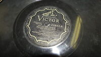 PAUL WHITEMAN VICTOR 78 RPM RECORD 20882 THE CALINDA / BABY'S BLUE