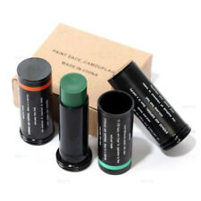 Three Color Camo Face Paint Stick  Military Woodland Camouflage Face CS Makeup