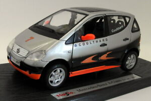 Maisto 1/18 Scale Diecast - 35841 Mercedes Benz A Class F1 Coulthard