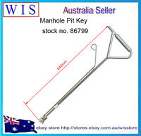 Telstra NBN Tools Pit key Manhole Pit Hole Key Telecommunication Tools,26 inch