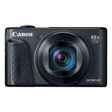Canon PowerShot SX740 HS 20.3MP 4K Digital Camera 40x Optical Zoom Wi-Fi Black