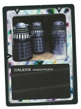 Doctor Who Black Border CCG Creature Card Daleks Common Card Good Condition