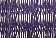 Christopher Farr Cloth Linen Print Fabric- Breakwater / Indigo 0.60 yd