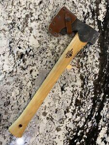 GRANSFORS BRUKS Model 465 KS CARPENTERS AXE and Leather Sheath