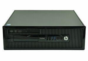 HP ProDesk 400 G1 SFF PC Intel i3-4130 3.4GHz 4GB 500GB HDD DVD-RW WIN 10