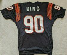 Cincinnati Bengals Alabama Crimson Tide Emanuel King NFL Game Used / Worn Jersey