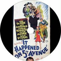 It Happened on Fifth Avenue (1947) Comedy, Music, Romance Movie / Film on DVD