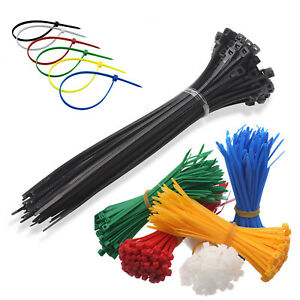 Nylon Plastic Cable Ties Small and Extra Large Zip Ties Wire Wrap Variou Colours