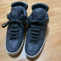 LOUIS VUITTON x KANYE WEST Gray Sneakers Size #8 27.5cm 10.8inch Used