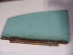 1960 CHEVY BEL AIR LEFT REAR DOOR WINDOW GLASS 4 DOOR SEDAN OEM USED CHEVROLET