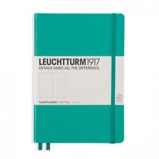 Leuchtturm1917 Medium Hardcover Notebook - Dotted - Emerald - A5 (Free Shipping)