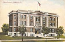 Des Moines Iowa~Brotherhood of American Yeomen~Supreme Office Castle~1908 PC