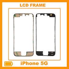 FRAME CORNICE TELAIO VETRO LCD PER IPHONE 5G TOUCH SCREEN NERO