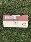VINTAGE UNUSED WITH STICKER MODEL 6303 PLANO FISHING TACKLE BOX 3 TIER NOS NICE