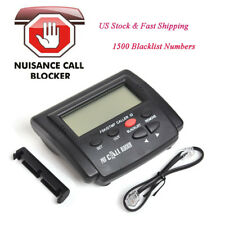 Home Office Call Id Blocker Box 1500 Blacklist Telephone Defense Signal Fsk/Dtmf