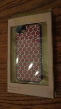 Juicy Couture Polka Dot Silicone Case Cover for iPhone 5, Pink, White & Blue