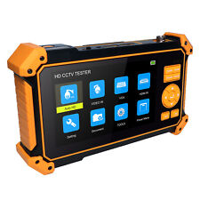 5inch CCTV tester monitor for AHD TVI CVI CVBS camera test with the Cabletracer