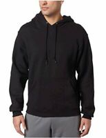Russell Athletic Men's Dri-Power Pullover Fleece Hoodie,, Black, Size Large hk1H