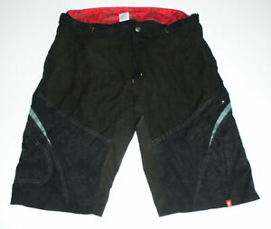 SPECIALIZED Cycling Shorts BAGGY & Compression PADDED 2 in 1 BLACK Mens 2XL