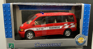 Hongwell Cararama 1/72 Scale Mercedes-Benz Vito - Red FIRE SERVICE NEW & BOXED