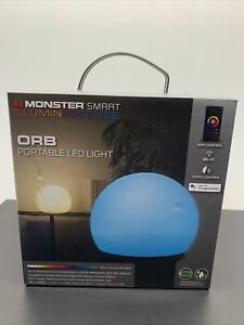 Monster ORB Portable Rechargeable Indoor/Outdoor Smart Multi-Color LED Light