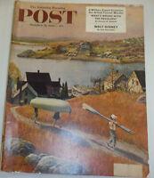 Post Magazine Walt Disney & Military Experts October 1953 122814R