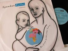 """Spandau Ballet-Be Free With Your Love-SPANS T4-Vinyl-12""""-Single-Record-1980s"""