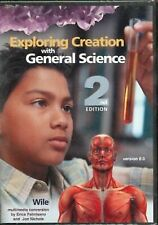 APOLOGIA Exploring Creation with General Science FULL COURSE CD-ROM J Wile NEW
