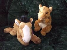Russ Berrie Yomico classic Hines the horse & selby the squirrel