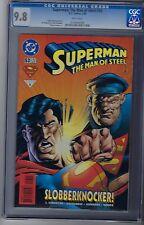 Superman The Man Of Steel # 53 CGC 9.8 DC