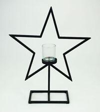 Mehrarmige Deko-Kerzenteller & -tabletts mit Stern-Form