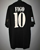 f8dd1d7ff REAL MADRID CENTENARY 2001 2002 AWAY FOOTBOLL SHIRT JERSEY ADIDAS  10 FIGO