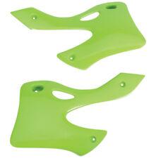 UFO Replacement Plastic Radiator Shrouds/Covers KX Green (KA03720-026)