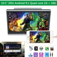 """10.1"""" Touch Screen Android 9.1 Stereo Radio GPS Wifi Head Unit Bluetooth FM USB"""