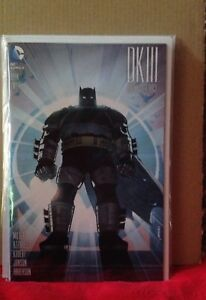 DARK KNIGHT III THE MASTER RACE BOOK 2 KLAUS JANSON VARIANT COVER DC COMICS