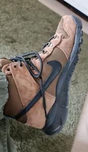 Nike SB Dunk High OMS Military Brown Hiking Boot UK 9.5