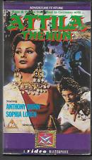 ATTILA THE HUN VHS VIDEO PAL UK FORMAT ANTHONY QUINN SOPHIA LOREN VGC