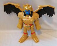"""IMAGINEXT - Imaginext Power Rangers Goldar Figure 10"""" Inch Tall Mattel 2015"""