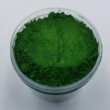 JAR 1oz MATTE Chromium Oxide Green Mica Pigment Powder Soap Making Cosmetics