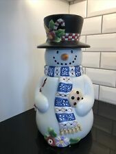 New ListingMary Engelbreit Cookie Jar Snowman