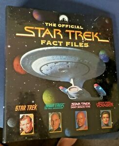 Star Trek Fact Files 1, 2 & 3