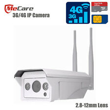 3G/4G IP Camera for Outdoor 1080p resolution Micro SD Card Slot 2.8-12mm Lens
