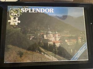1980 APC Puzzle Ettal Monastery, Bavaria Germany Splendor NEW SEALED Vintage Vtg