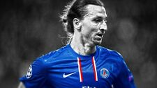 POSTER ZLATAN IBRAHIMOVIC PARIS ST GERMAIN MILAN PSG IBRA SOCCER FOOTBALL CALCIO