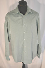 Taylor & Wright City green long sleeve shirt in size large tailored fit