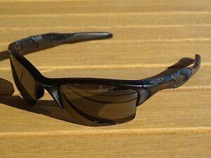 Oakley Sonnenbrille Modell Half Jacket XL Schwarz Polarisiert Herren Brille