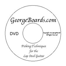 Lap Steel Guitar Instructional DVDs -GeorgeBoards -C6th